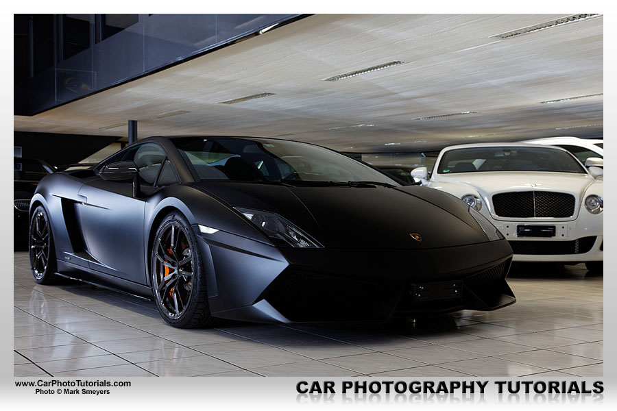 The original OOC shot take inside the Lamborghini Affolter showroom in Switzerland.